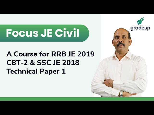 Focus JE Civil 2019 | SSC/RRB Junior Engineer Exams | Start Free Trial from Link in Description