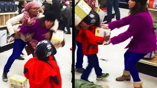 BLACK FRIDAY MADNESS | WOŔST BLACK FRIDAY MOMENTS OF ALL TIME