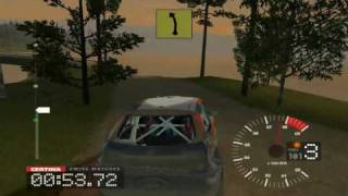 Colin McRae Rally 3 - Championship (PC gameplay video)