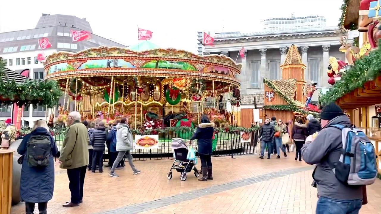 英國伯明翰城市聖誕市集 - YouTube