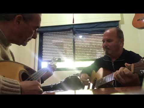 Bouzouki Solo Playing by Andros Sofokleous and Pambos on the guitar