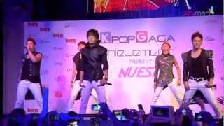 [121026] NU'EST - Action (Singapore ShowKase)