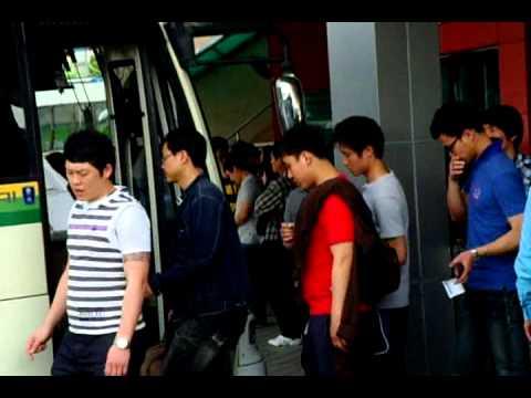 전주 고속버스 터미널 Jeonju Express Bus Terminal . KOREA