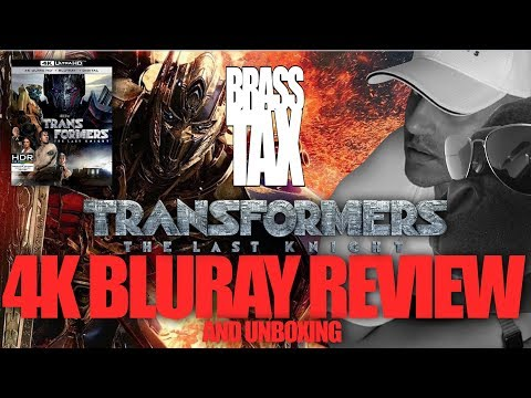 Transformers The Last Knight 4K Bluray Review and Unboxing + DOLBY VISION