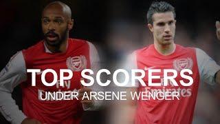 Arsenal's top scorers under arsene wenger