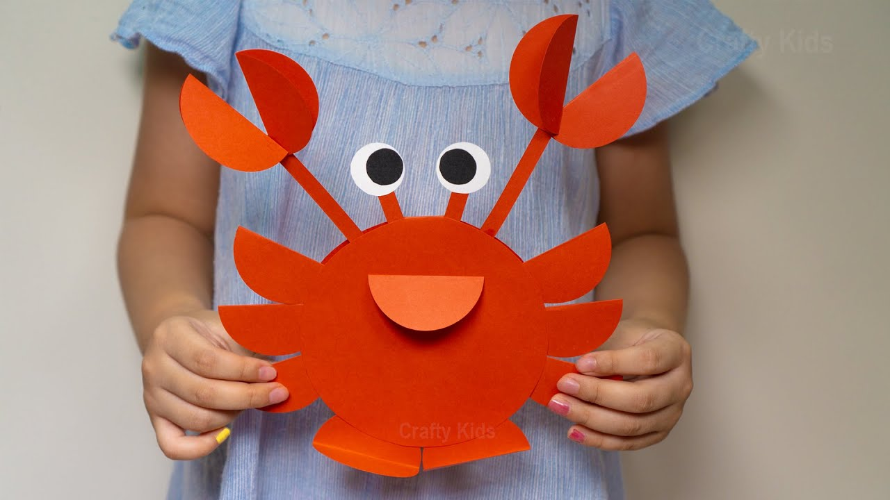 Cut and shape them to turn them into a … How To Make A Paper Circle Crab Diy Craft Ideas For Kids Crab Craft From Paper Circle Youtube