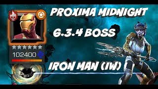 IRON MAN (IW) BOSS ACT 6.3.4 PROXIMA MIDNIGHT   Marvel Contest of Champions