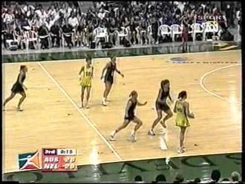 Netball: Diamonds v Silver Ferns WNC 2003 Final