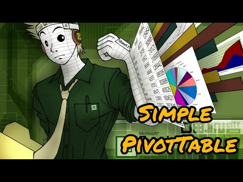 Simple PivotTable Tutorial