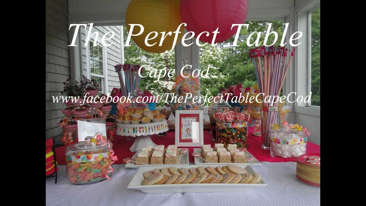 Graduation Dessert Table By The Perfect Table Cape Cod
