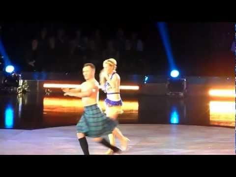 Strictly Come Dancing Live tour - Denise Van Outen and James Jordan