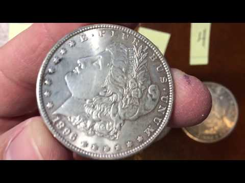 When should I dip or clean coins Results. Video 2. Morgan silver dollars.
