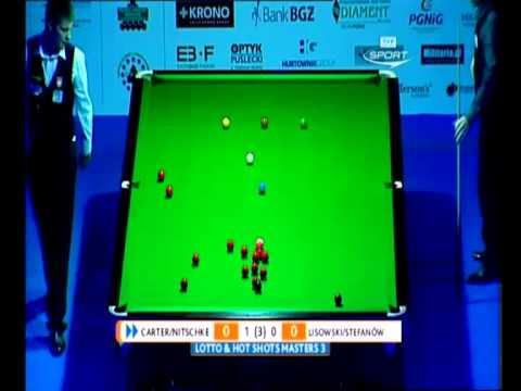 Snooker Lotto Hot Shots Masters 3 2012 Debel Carter Nitschke vs Stefanów Lisowski