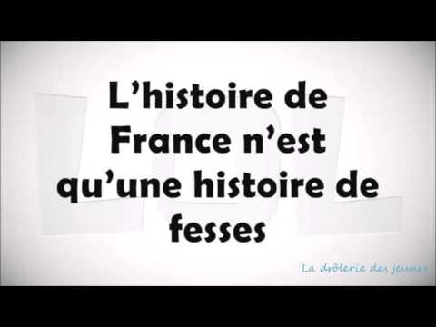 Chanson paillarde L'histoire de France