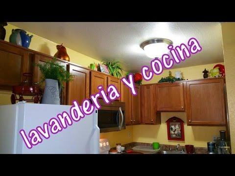 Lavanderia y cocina vlog 24 youtube for Cocina y lavanderia juntas
