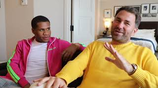 'PEOPLE WILL ALWAYS BE NEGATIVE ABOUT ME - BECAUSE THEY SMELL FEAR' - EDDIE HEARN & DEVIN HANEY RAW