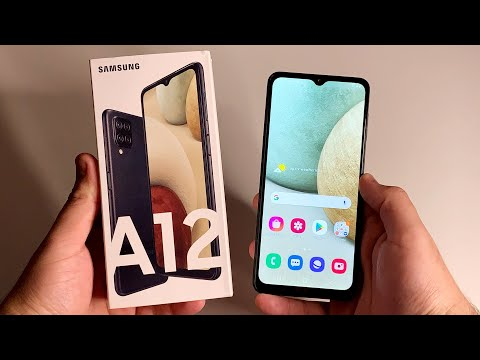Samsung Galaxy A12 Unboxing & First Impressions!