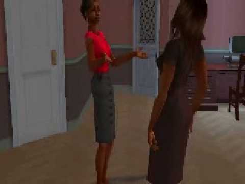 JENNIFER HUDSON & FANTASIA-I'M HIS ONLY WOMAN (SIMS 2 MUSIC VIDEO)