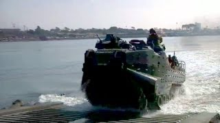 U.S. Marines Assault Amphibious Vehicle in Action, Part 1/6 | AiirSource