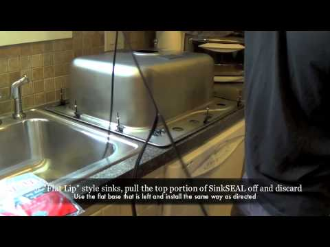 How To Seal A Kitchen Sink New Universal Sinkseal Gasket