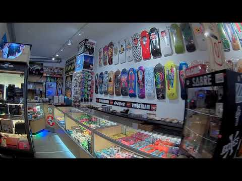 CineBee hits the Calstreet/Boarderlabs skateshop!