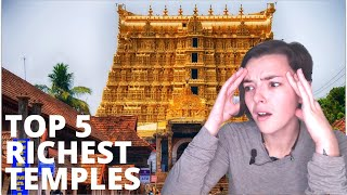 Top 5 Richest Temple In India | REACTION!! | Indi Rossi