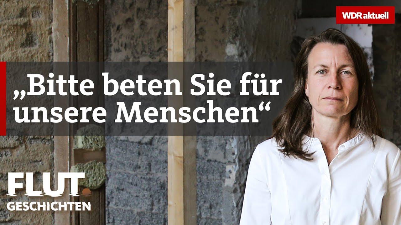 Hochwasser in Altenahr: Sie wird über Nacht zur Krisenmanagerin   WDR aktuell Flut.Geschichten