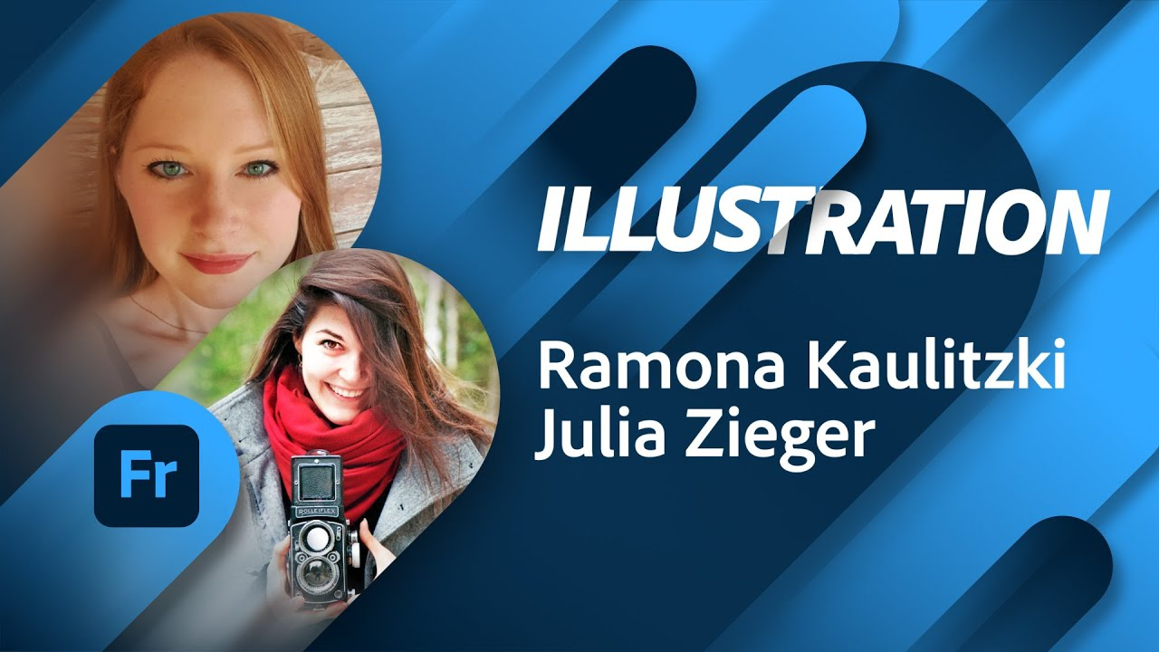 Illustration Masterclass mit Ramona Kaulitzki |Adobe Live