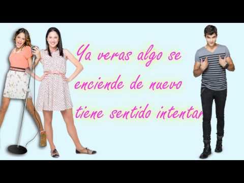 Violetta 2-Algo Se Enciende Letra - HD