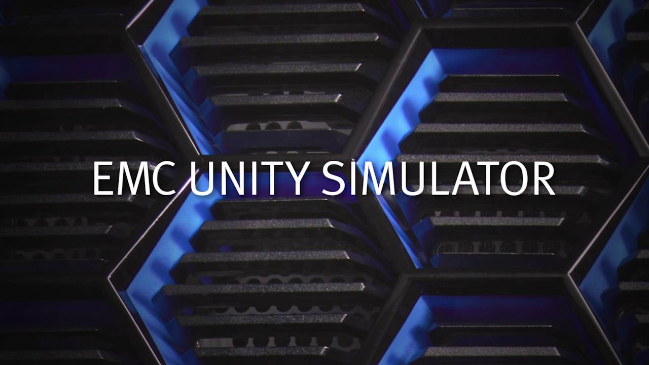 EMC Unity All-Flash Simulator - YouTube