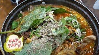 Gamjatang - Korean Pork Bone Stew