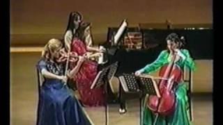 """Beethoven trio """"spettri"""" 1 movimento-Alexandra Stefanato"""