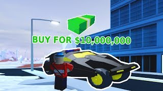 BUYING THE NEW BATMOBILE! | Roblox Jailbreak Winter Update