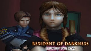 🎮 Claire meets Leon in the Louvre / RESIDENT EVIL MOD - Tomb Raider: The Angel of Darkness