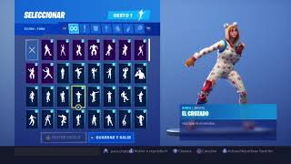 Skin Empijamada Dancing 53 Fortnite Gestures