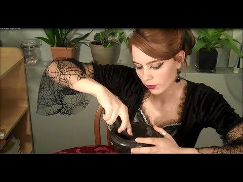 ASMR The Witch Saoirse & Making Black Salt