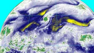 Super Typhoon Nuri becomes a strong Bering Sea Storm