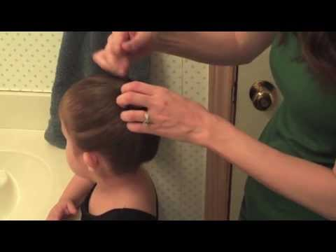 How to: Ballet Bun for Beginners (on a Toddler)