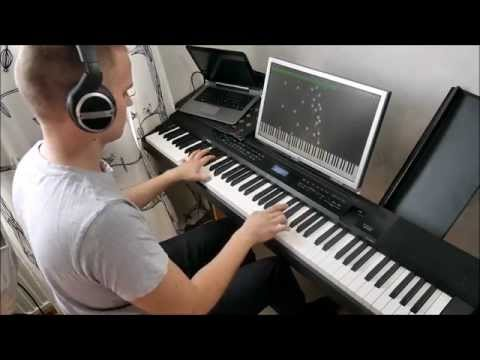 Secret - Time Travel Theme (Jay Chou, piano solo, midi