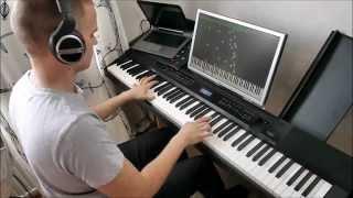 Secret - Time Travel Theme (Jay Chou, piano solo, midi
