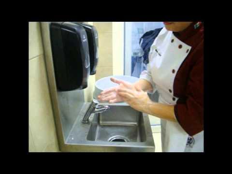 lavado de manos en cocina universidad vizcaya de las