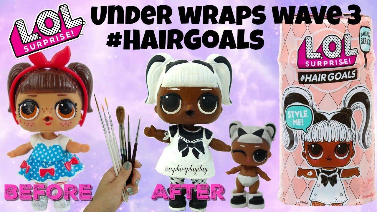 Lol Surprise Under Wraps Wave 3 Hairgoals Make Over Series