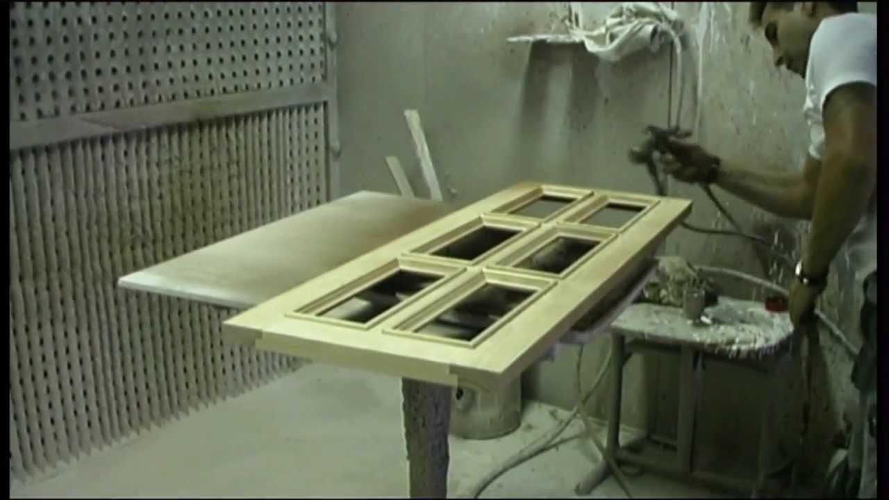pintado y barnizado de muebles artesanales youtube