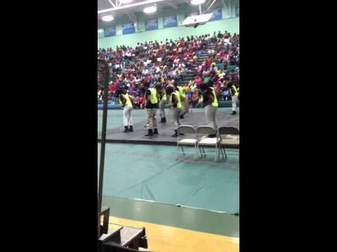 Dynamic Steppers(Cary NC) at HypeFest I'n Greenville nc