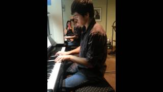 We're all alone piano cover by Ryne