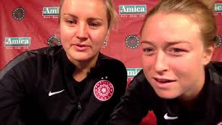 Portland Thorns: Lindsey Horan and Emily Sonnett Q & A