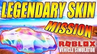 LEGENDARY SKIN?!  - HEMMELIG MISSION?? - VEHICLE SIMULATOR - DANSK ROBLOX - [#15]