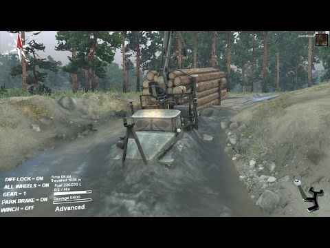 Spintires - Lumber delivery (coast map)