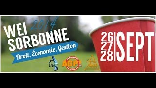 Teaser WEI Sorbonne 14'