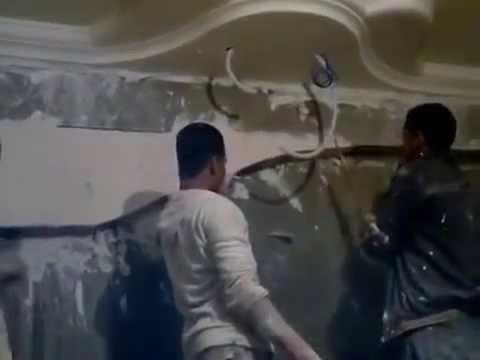 ديكورات جبس بودر (غرف نوم و غرف متنوعة)موديلات2014 للفنان أحمد
